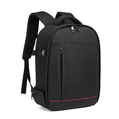Kono Kamerarucksack Fotorucksack Kamera Rucksack wasserdicht stoßfest Kameratasche für SLR Kamera Objektiv Blitz und Zubehör großer Kapazität Laptop Backpack für die Arbeitsschule College