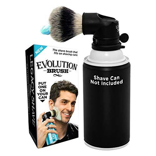 Our #1 Pick is the Legacy Shave Evolution Shaving Brush