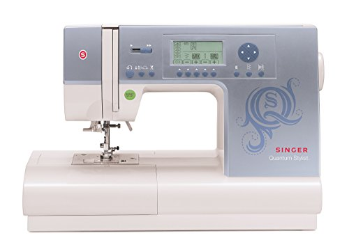SINGER | Quantum Stylist 9980 Computerized Sewing Machine with 820 Stitches, & Built-In Thread Cutter - Sewing Made Easy