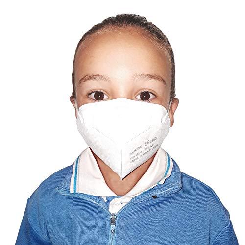 Econanos Mascarilla De Protección Infantil Ffp2 Autofiltrante, 1 Unidad