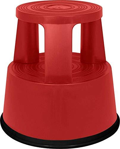 Rolltritt Kunststoff Rot Rollhocker, Elefantenfuß