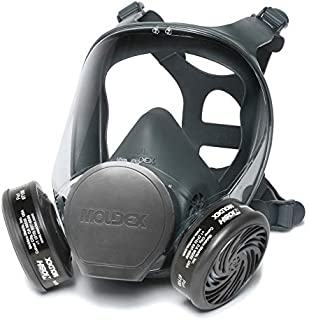 Moldex 9000 Series Reuasble Full Face Respirator/Mask with 7100 Organic Vapor Cartridge (1 Each) (Large)