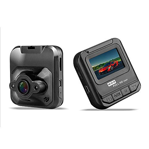 Generp Mini-Fahrradkamera Q1 für Armaturenbrett/Armaturenbrett / Kamera-Recorder