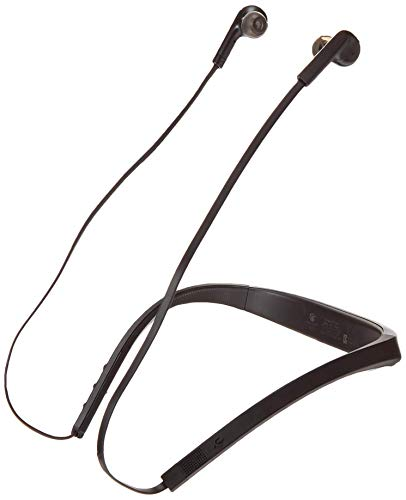 Jabra Halo Smart Wireless Bluetooth Headset, Black/Silver (Renewed)