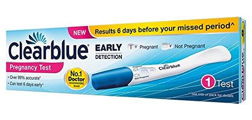 Clearblue Early Détection Pack de 1 Test de Grossesse Précoce