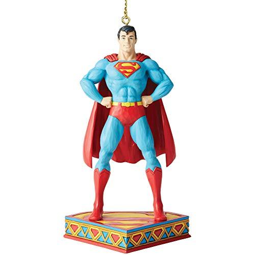 Enesco DC Comics by Jim Shore Superman - Figura Decorativa de Superman