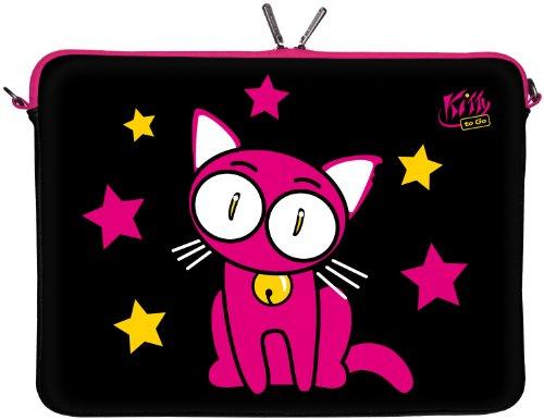 Kitty to Go LS142-13 - Funda de Neopreno para portátiles de hasta 33,8 cm (13,3