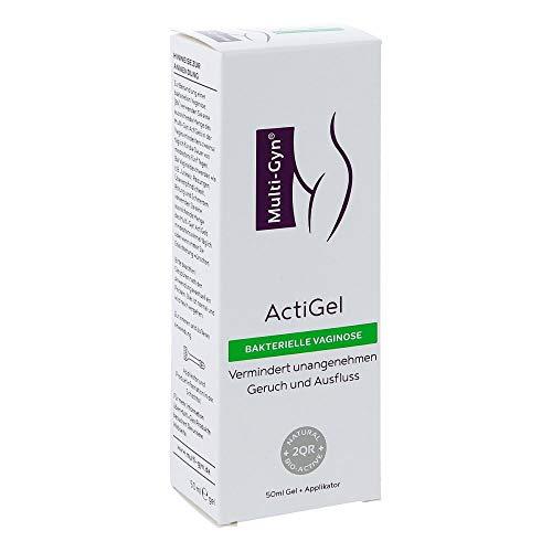 Multi-Gyn ActiGel - zur Behandlung und Vorbeugung bakterieller Vaginosen Tube mit 50 ml Gel für ca. 25 Anwendungen im Intimbereich und in der Scheide