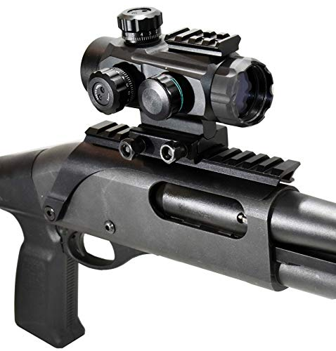Fantastic Prices! TRINITY Remington 870 Model Green red dot Sight and Rail Mount Base Tactical Optic...