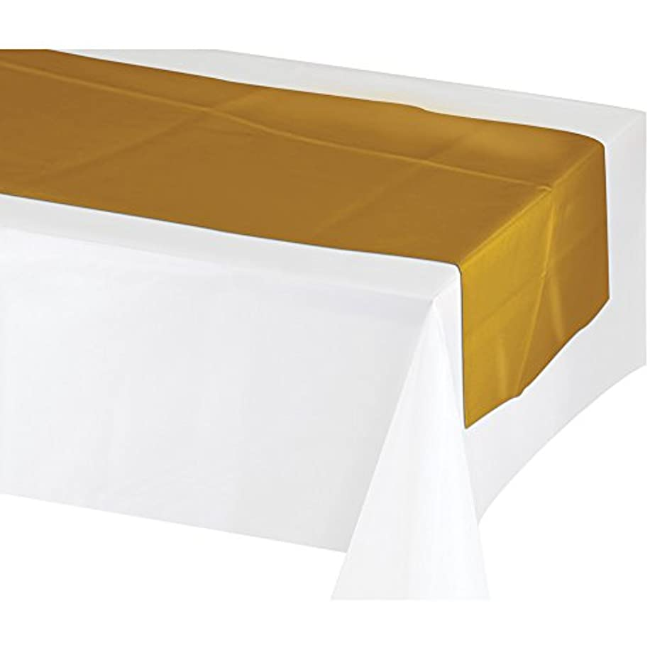 Creative Converting 317334 12Count Plastic Table Runners, 14 x 84