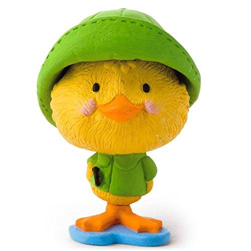 Hallmark Merry Miniatures Duck in Raincoat Figurine