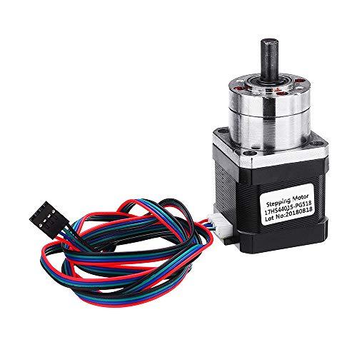 Cikuso 17HS4401S-PG518 4 Kanal Schritt Motor Nema17 42 Motor Extruder Getriebe Schritt Motor übersetzung 5.18: 1 Planeten Getriebe Nema 17