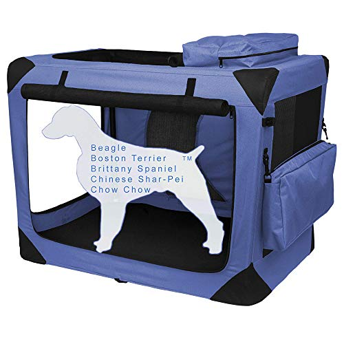 Deluxe Soft Dog Crates