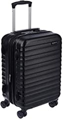 Outer dimensions (including wheels): 14.9 x 10 x 21.6 Inches; Interior dimensions: 13.3 x 9.6 x 18.5 Inches Interior capacity: 39 Liters Weight: 7.34 lbs. 21-inch hardside spinner luggage for weekend getaways or as international carry-on Protective h...