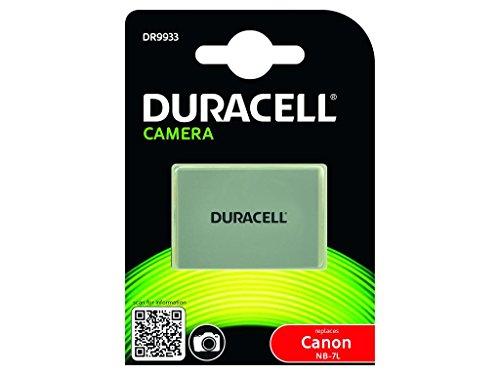 Duracell DR9933 - Batería para cámara digital 7.4 V, 1000 mAh (reemplaza batería...