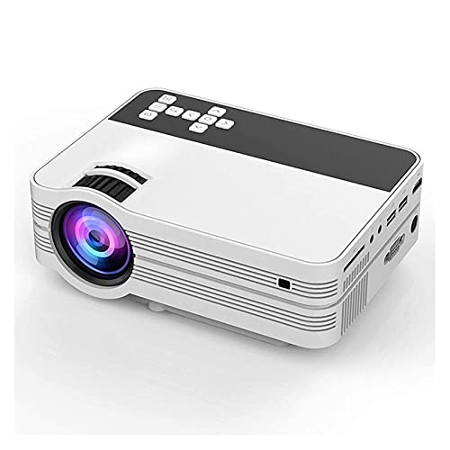 HKJZ SFLRW Proyector, proyector de Video HD Proyector de películas al Aire Libre, proyector de Cine en casa de 1080p y 170'
