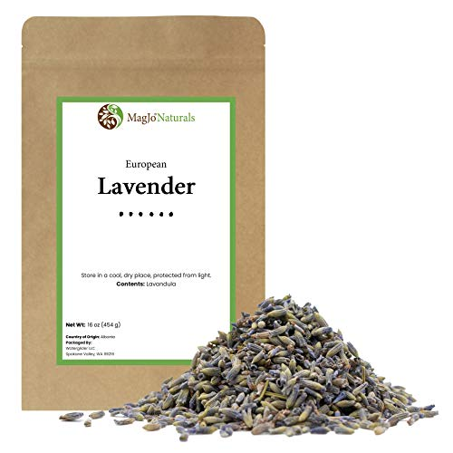 European Lavender Flowers (Extra Grade) - 100% Raw From Europe - 1 pound