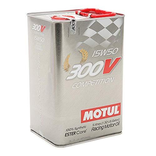 Motul 103920 Motoröl 300 V Competition 15W-50, 5 L