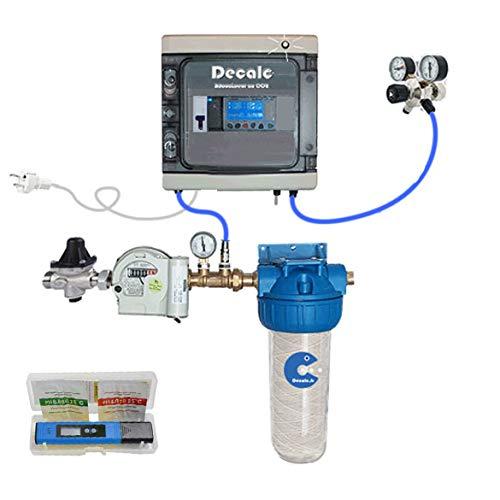 Adoucisseur CO2 DECALC 25  La nature utilise le CO2 pour dissoudre le calcaire, pourquoi pas vous ?