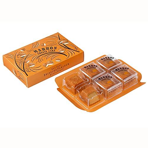 資生堂パーラー 秋のチーズケーキ(マロン) 6個入