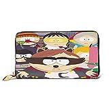 South Park - Cartera de piel de primera calidad, soporte largo para tarjetas de crédito para niñas y mujeres, regalo perfecto para madre/hija/novia