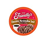 Friendly's Ice Cream Coffee Pods for Keurig K Cup Brewers, Flavored Coffee, Chocolate Marshmallow Swirl, 40 Count (Pack of 1)