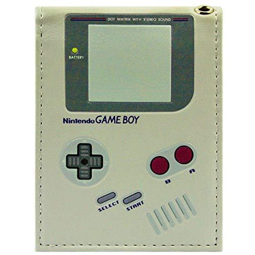 Nintendo Game Boy Original-Handheld Grau Portemonnaie Geldbörse