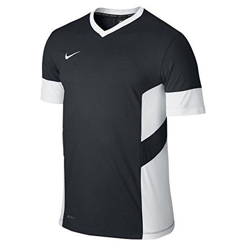 NIKE Kurzärmliges Shirt Academy 14 Training Top Camiseta de Manga Corta de Fútbol, Hombre, Negro/Blanco, XL