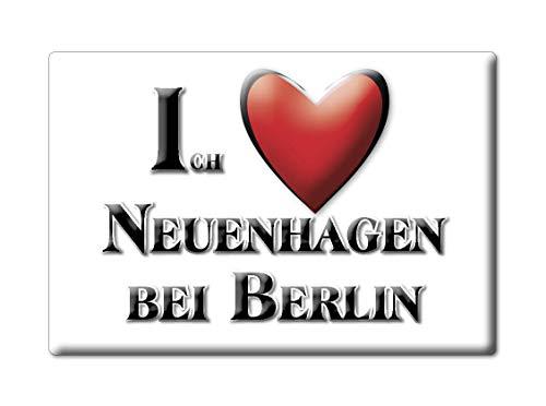 Enjoymagnets NEUENHAGEN BEI Berlin (BB) Souvenir Deutschland Brandenburg Fridge Magnet KÜHLSCHRANK Magnet ICH Liebe I Love