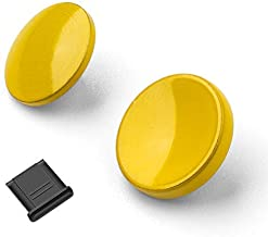 Metal Brass Soft Release Button Shutter Release Button Compatible with Fujifilm XT20 X100F X-T2 X100T X-PRO2 X-T10 X-PRO1 X-E2S X100 X100S X10 X20 X30 X-E1 X-E2 STX-2, Yellow