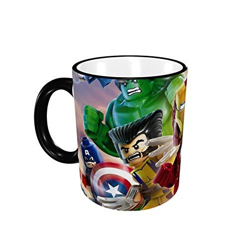 330ML Taza de cerámica Tazas de café A-V-E-N-G-Ers Taza de té para oficina y hogar, regalo divertido