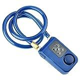 Tonysa Y787 Smart Chain Lock, Serrure à Combinaison d'Alarme, Antivol Verrouillage d'Alarme pour...