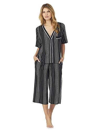 DKNY Color Theory Pyjama mit Hemdoberteil Damen