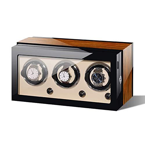 LLSS Enrolladores de Relojes - Mecánico Caja de bobinado de Relojes Agitador Vertical de Relojes Oscilación automática del Motor Enrollador de Relojes Dispositivo Giratorio Al