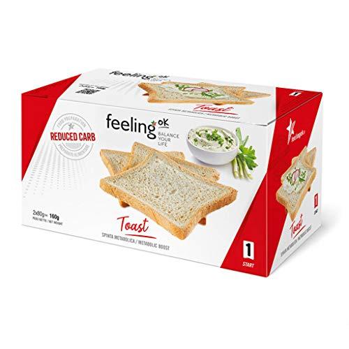 Fooditalia - FeelingOK Start - Protein Toast-Zwieback Natur - 160g
