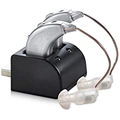 EXPERIENCE A PREMIUM DIGITAL HEARING AMPLIFIER: At a fraction of the cost. With the MEDca digital hearing amplifier you experience clear sound amplification with digital noise reduction and sound processing. Making the MEDca rechargeable hearing ampl...