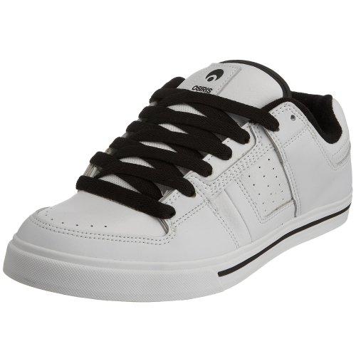 Osiris Tron Se 1188282, Herren Sneaker, Weiß/schwarz, 42 EU / 8 UK