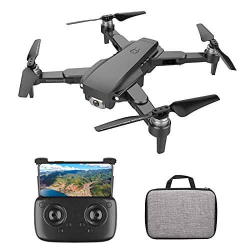 Staright Drone RC con Fotocamera Fotocamera 4K Drone Senza spazzole Doppia Fotocamera 5G WiFi FPV GPS Posizionamento del Flusso Ottico Gesto Foto Video Punto di Interesse Volo Seguimi RC Qudcopter