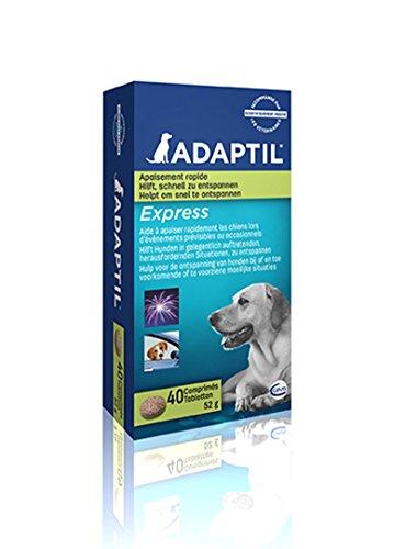 ADAPTIL Express Tabletten, 40 Stück, Ergänzungsfuttermittel zur Beruhigung