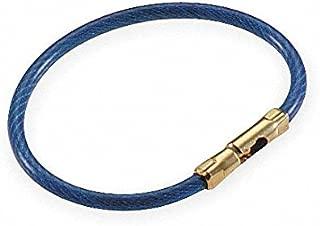 Lucky Line Products, 71135, Flex-O-Loc Key Ring, Blue, PK5