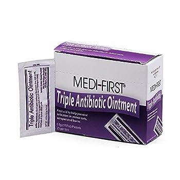 Medique Products 22373 Triple Antibiotic Ointment.5 Gram 25 Per Box