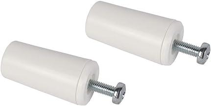 COFAN 61001272 A – Pack van 2 stoppers jaloezieën (40 mm) wit