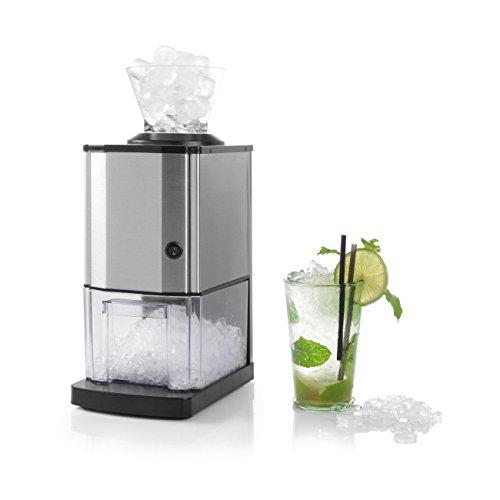 Hendi Eiszerkleinerer, Eismaschine, Eiscrusher, Verarbeitet bis zu 12 kg Eis pro Stunde, Kapazität von 12 Tassen, 230V, 80W, 170x260x(H)460mm, Edelstahl, Polypropylen, ABS Kunststoff, 271520