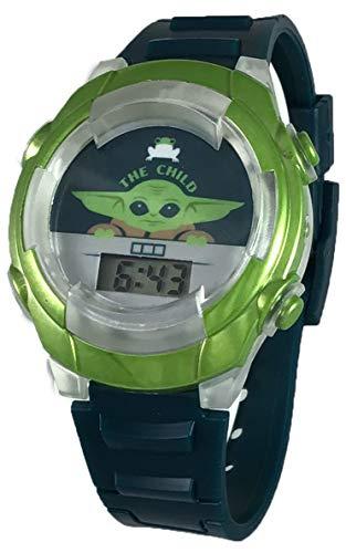 Star Wars Kid's Mandalorian Baby Yoda The Child Digital Light Up Watch