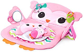 Bright Starts Tummy Time Prop & Play (BS11032), Owl