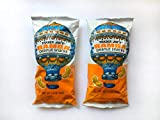 Trader Joe's Israel Bamba Peanut Snacks, 3.5 oz (100g), Set of 2 Bags, Kosher Pareve