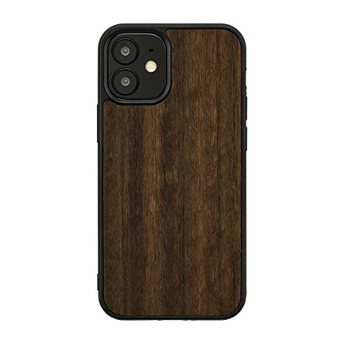 Man&Wood iPhone 12 Pro Max ケース 木製 [ ユーカリ 薄型 ウッド カバー 頑丈 ハイブリッド ストラップホール Qi充電 ワイヤレス充電 アイフォン 12 プロ マックス カバー ] Koala I19259i12PM【日本正