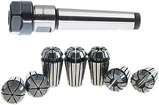 TOOGOO 1set MT2 ER20 M10 MTB2 Collet Chuck Morse#2 Taper ToolHolder+7pcs spring collet CNC Milling Extension Rod