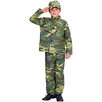 Generique Disfraz de Soldado para niño: Amazon.es: Juguetes y juegos