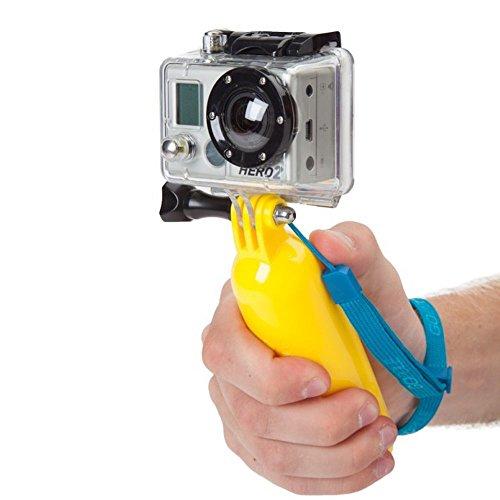 REY Palo Selfie Flotante para Gopro, Boya Flotador de Cámara Deportiva, Soporte Bobber Acuático